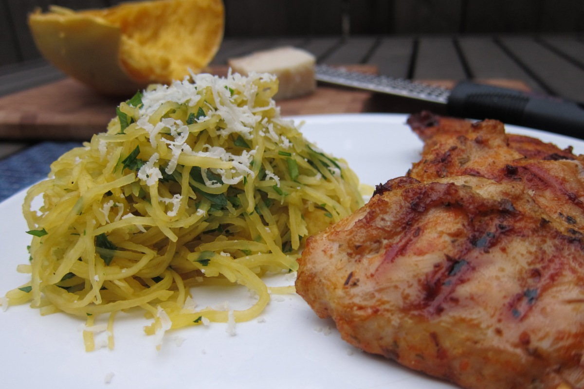Grilled Peri Peri Chicken with Lemon Herbed Spaghetti ...