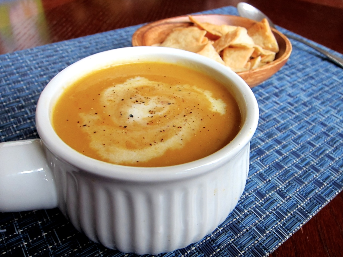 Miso Ginger Sweet Potato Soup